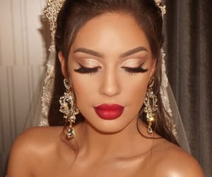 bride, Hot, and makeup image
