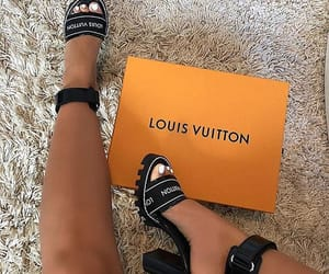 shoes, fashion, and Louis Vuitton image