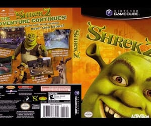 game, video game, and shrek image