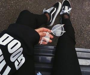 black and vans image
