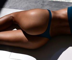 bikini, fitness, and summer image