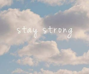 quotes, strong, and sky image