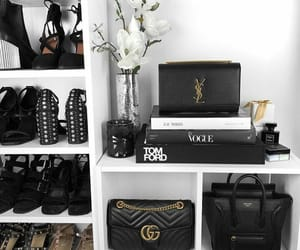 bags, chic, and shoes image