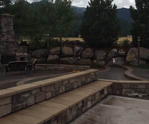 wall design, retaining wall, and concrete retaining wall image