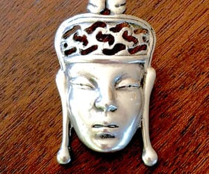 etsy, sterling silver, and sterling figural pin image