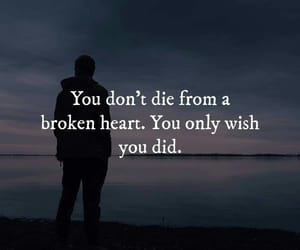 broken heart and quotes image