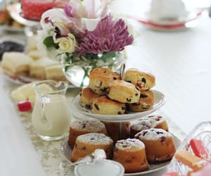 cakes, high tea, and sweets image