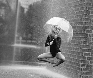 black and white, photography, and inspiration dancing image