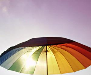 afternoon, photography, and rainbow image