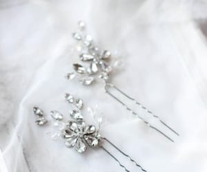 etsy, crystal pin, and braut haarschmuck image