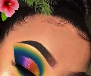 colors, exotic, and eyebrows image