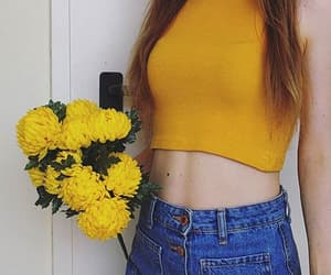 aesthetic, fashion, and flowers image