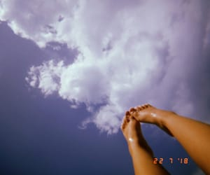 clouds, indie, and nature image