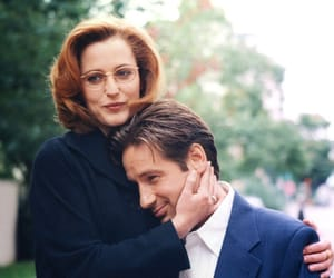 dana scully, fox mulder, and mulder image