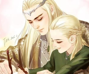 art, Legolas, and cute image