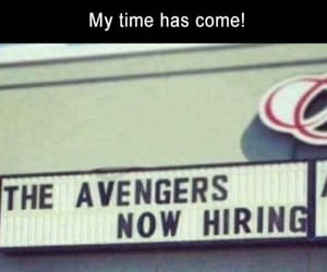 Avengers, hilarious, and job image