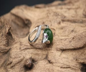etsy, statement ring, and engagement ring image