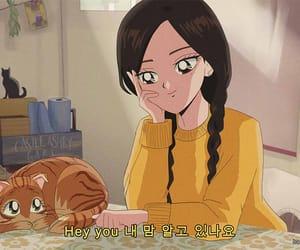 anime, loona, and yellow image