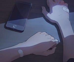 anime, art, and sad image