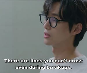 breakup, Korean Drama, and quote image