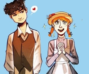gilbert blythe, anne with an e, and amybeth mcnulty image