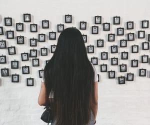 girls, longhair, and vscocam image