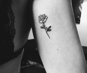 tattoo, black and white, and art image