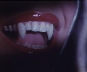 Halloween, teeth, and vampire image