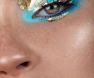 beauty, eyes, and girls image