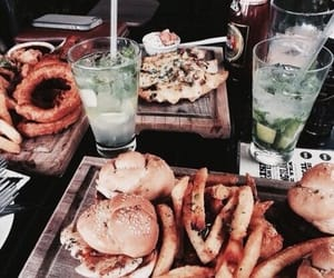 aesthetic, beautiful, and burgers image