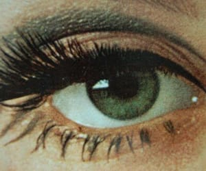 60s, eyes, and makeup image