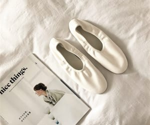 ballet shoes, book, and magazine image