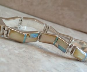 etsy, sterling silver, and mother of pearl image