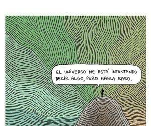 universo, raro, and frases image