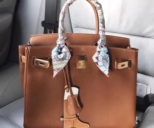 bag, rich, and brown image