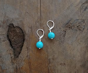 jewelry, turquoise, and earrings image