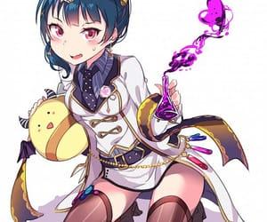 anime girl, beautiful, and love live sunshine image