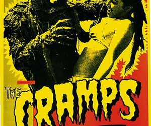 The Cramps and monster image