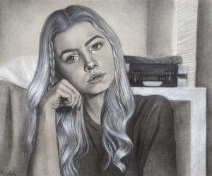 artist, fine art, and hair image