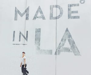advertisement, los angeles, and mural image