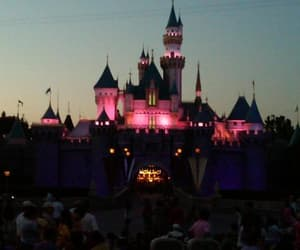 california, disneyland, and mickey image