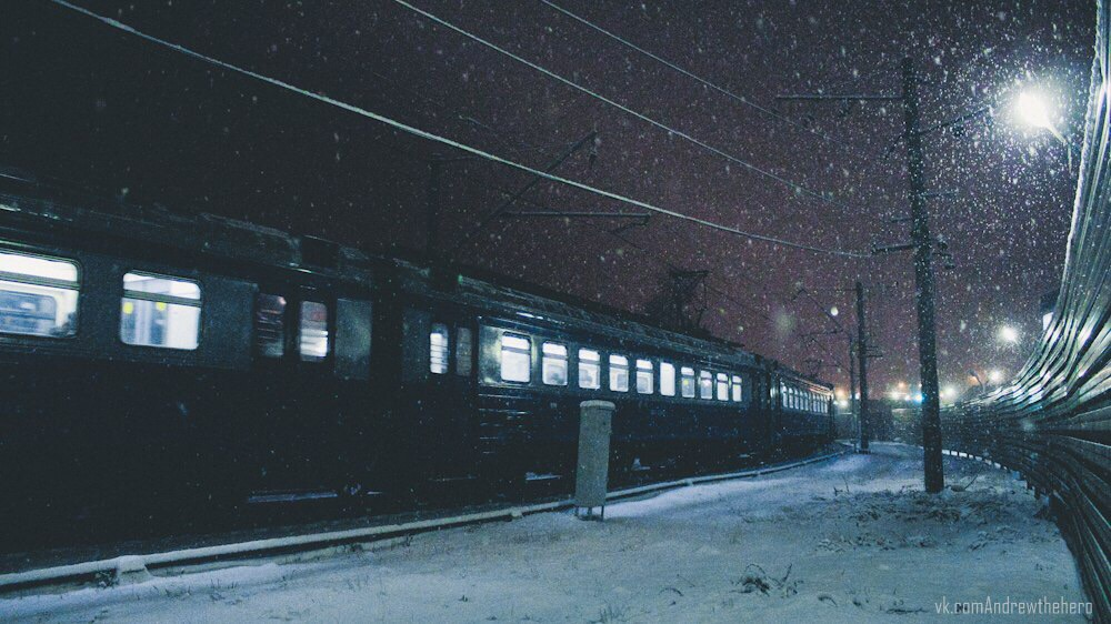 dark, train, and серый image