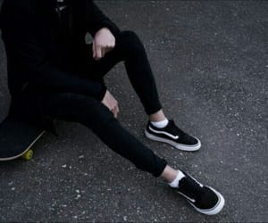 aesthetic, black, and boy image