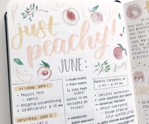 journal, journaling, and lettering image