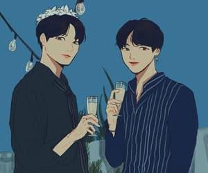 couple, k-pop, and boy x boy image