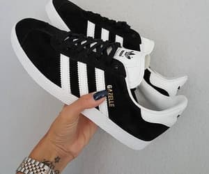 adidas, sneakers, and black image