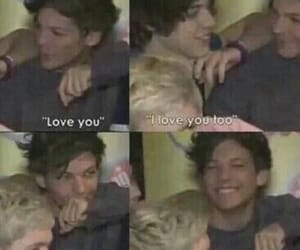 larry, larry stylinson, and louis tomlinson image