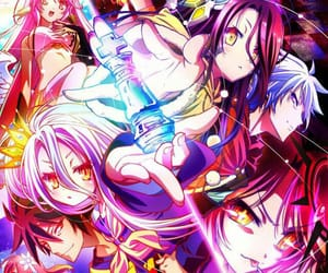 anime, boy, and no game no life image