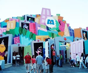 california, monsters, and adventure park image