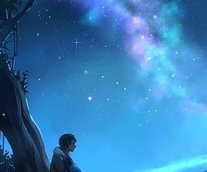 art, pretty, and sky image